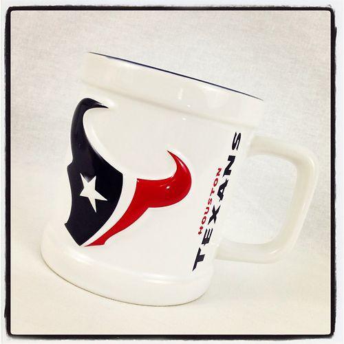 NFL Houston Texans Football Mug Coffee Tea Cocoa Cup 11 oz OFFICIAL LICENSED