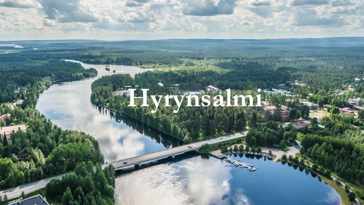 Hyrynsalmi in Summer Finland