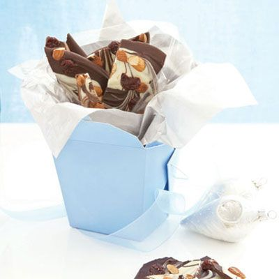 Gift - Toasted Almond and Cherry Chocolate Bark