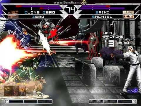 KOF WOJ Darkness ~ Clone Zero vs Saiki & Sachiel