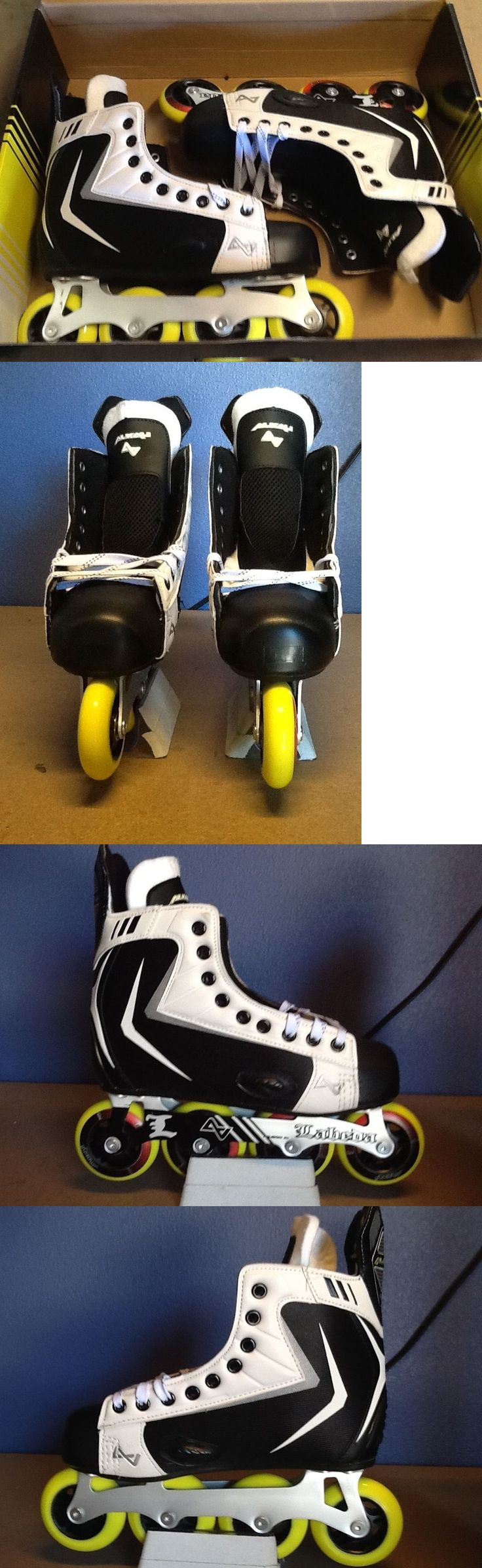 Roller Hockey 64669: Alkali Rpd Lite R Inline Hockey Skates - Sz 8.0 D -> BUY IT NOW ONLY: $65 on eBay!