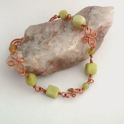 Stone and Metal Arts   Jewelry: Wirework   Pinterest
