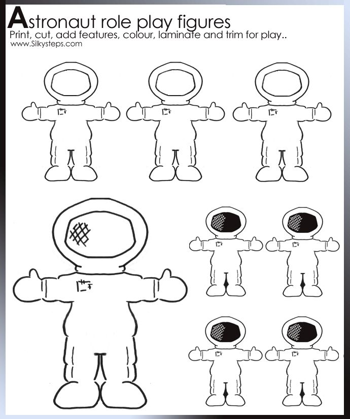 Full information about Preschool Astronaut Pattern - #hos-ting