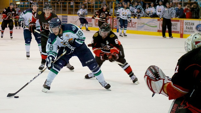 2013 BCHL Coastal Conference Final, Alberni Valley Multiplex, Port Alberni, BC
