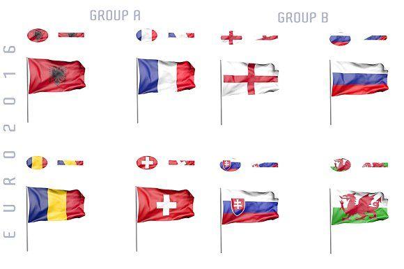 Euro 2016 animated flags by jordygraph on @creativemarket
