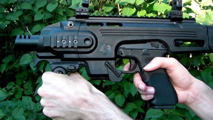 CAA Roni Glock Carbine Kit Review - YouTube
