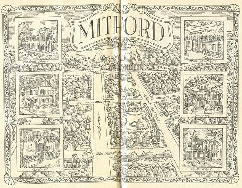 map of mitford jan karon - Bing Images