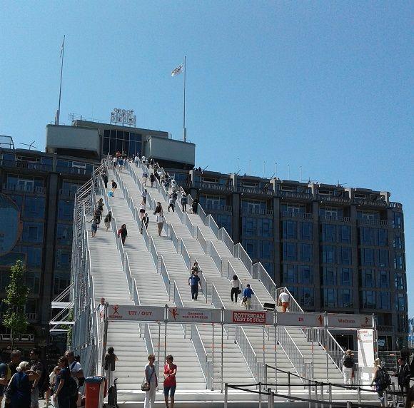Rotterdam stairs