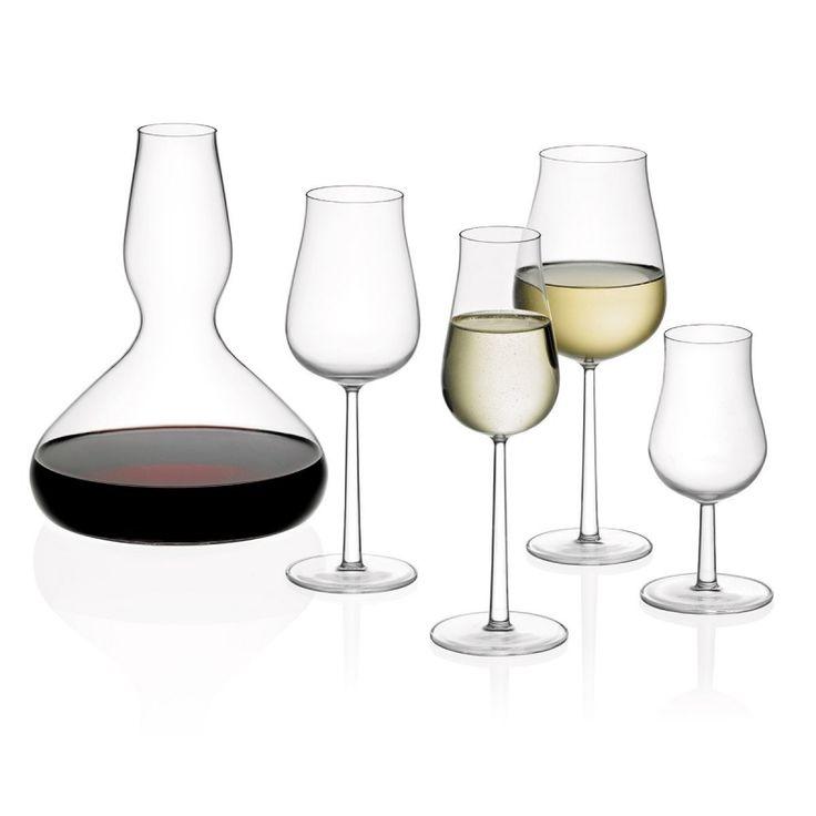 Iittala Essence Plus-lijn: De glazen uit deze lijn zijn ontworpen door Alfredo Häberli en hebben een prachtige elegante vormgeving dat de smaak absoluut ten goede komt.