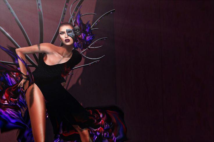 OUTFIT DRESS  ADCreations/Solidea Folies- Angel of Tragedy-{New!}  LIMO tothe Solidea Folies:: AD Creations~ Solidea Folies slurl.com/secondlife/SaliMar/176/128/502