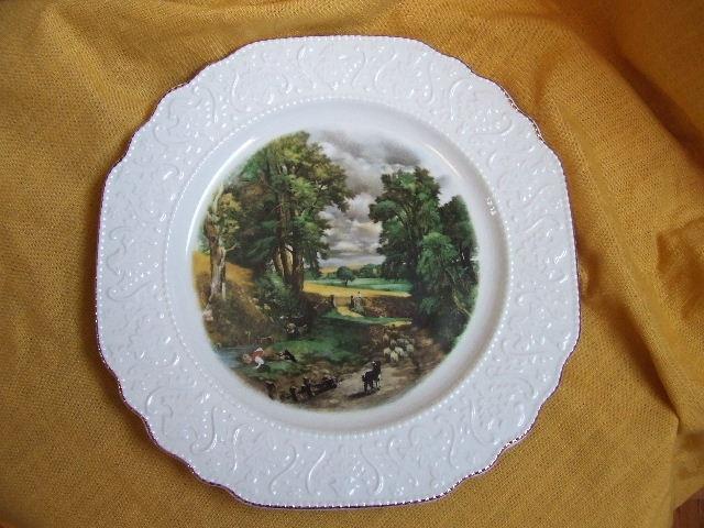 China dinner plate, British