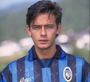 Filippo Inzaghi - Atalanta .. good-looking. capocannoniere with 24 goals.  that's great