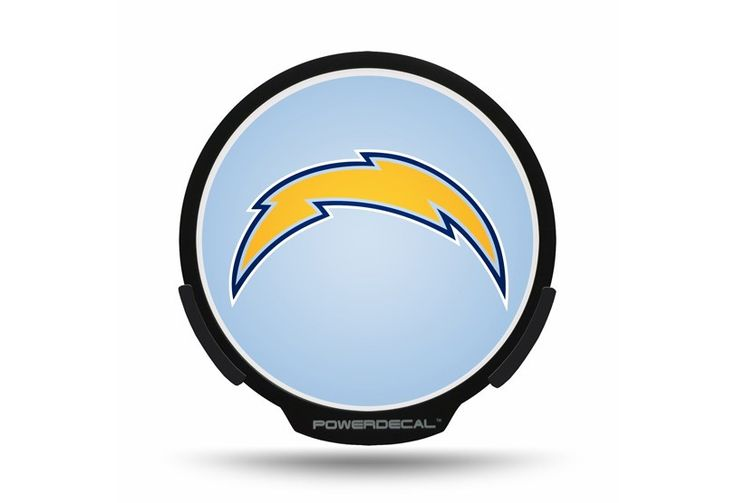 San Diego Chargers Power Decal Wherethefansshop Com
