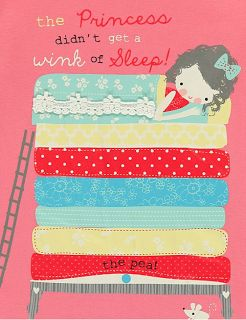 Princess & The Pea by Lizzie Mackay