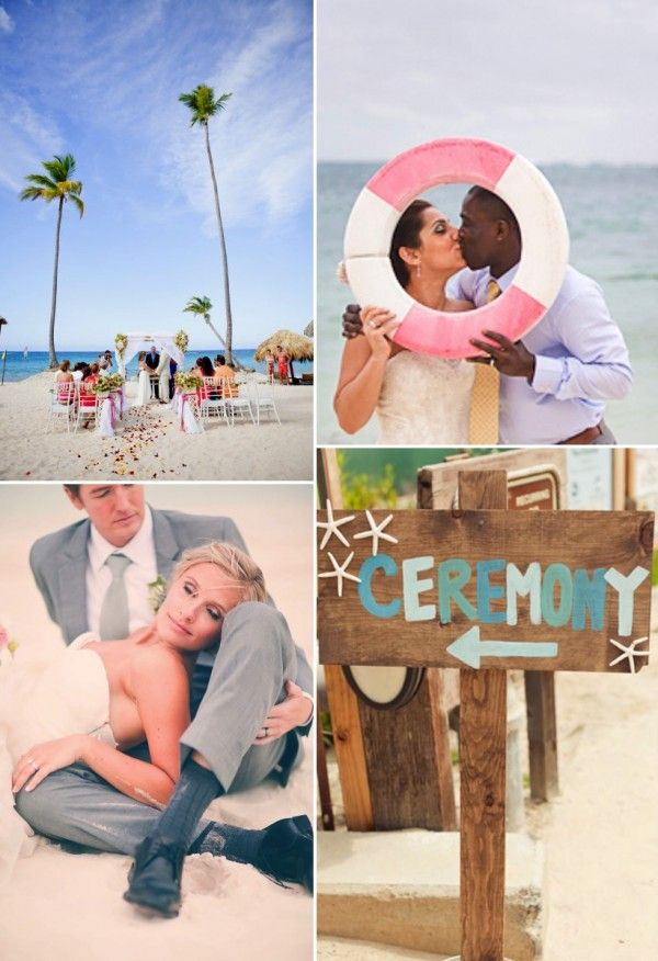 Beach Wedding Make A Cool Wooden Sign And Kiss Yogagurl On Maui