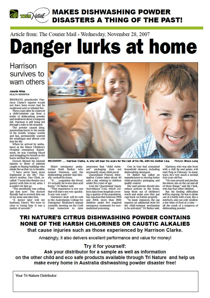 Dangers lurks at home!