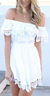 cute white summer dress...