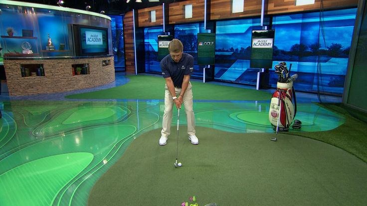Golf Channel Academy lead coach Todd Sones demonstrates how to start the backswing and downswing when hitting chip and pitch shots.