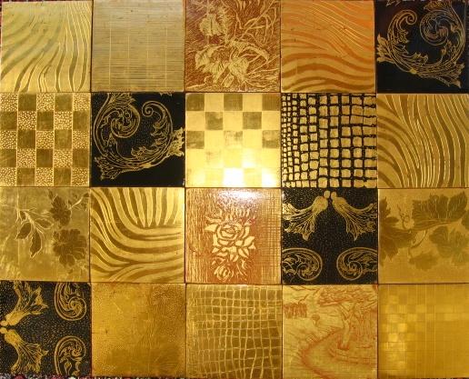 www.pannelli-decorativi.it  foglia oro zecchino