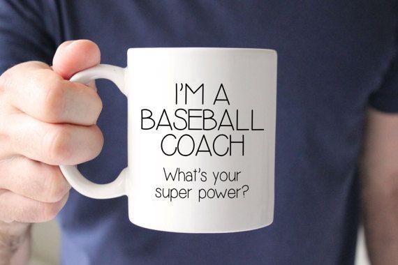 Gift For Baseball Coach - Baseball Coach Gift - Personalized Coach Gift - Coffee Mug - Unique Gift Idea - Gift for Coach - Coach Gift Idea