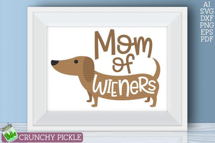 Download Mom of Wiener Dog Dachshund SVG By Crunchy Pickle | Wiener ...