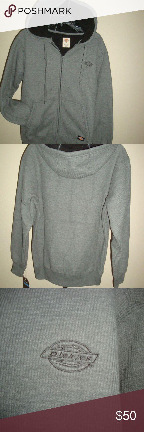 Dickies Full Zip Thermal Sweatshirt Sherpa Gray S Sweatshirts Thermal Hoodie Sweatshirt Shirt [ 1740 x 580 Pixel ]