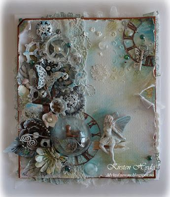 My Craft and Garden Tales: Mixed Media - published in Ett trykk (August)