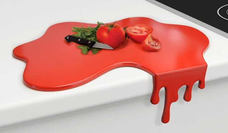 My kind of chopping board.