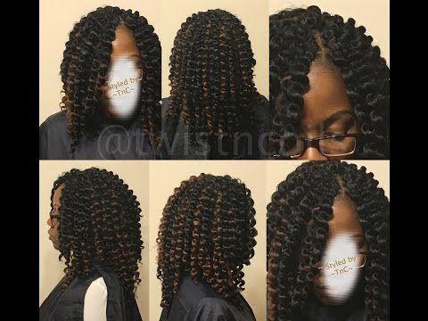 The Best Quot Pre Curled Quot Crochet Hair Ever Samba Kanekalon