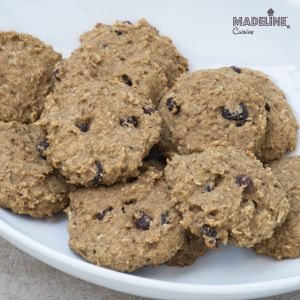 Fursecuri cu stafide fara gluten / Gluten-free raisin cookies - Madeline's Cuisine