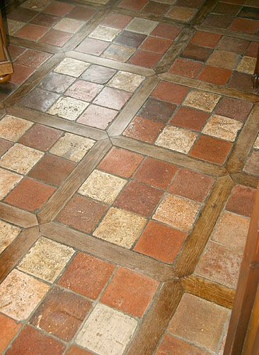 1000 images about country cottage floors sols on for Country cottage floor tiles