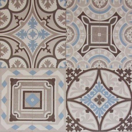 Sol pvc | Vente sol pvc effet carreau de ciment | Découvrez tous nos sols vinyle et lino à petit prix pour un intérieur moderne et tendance !