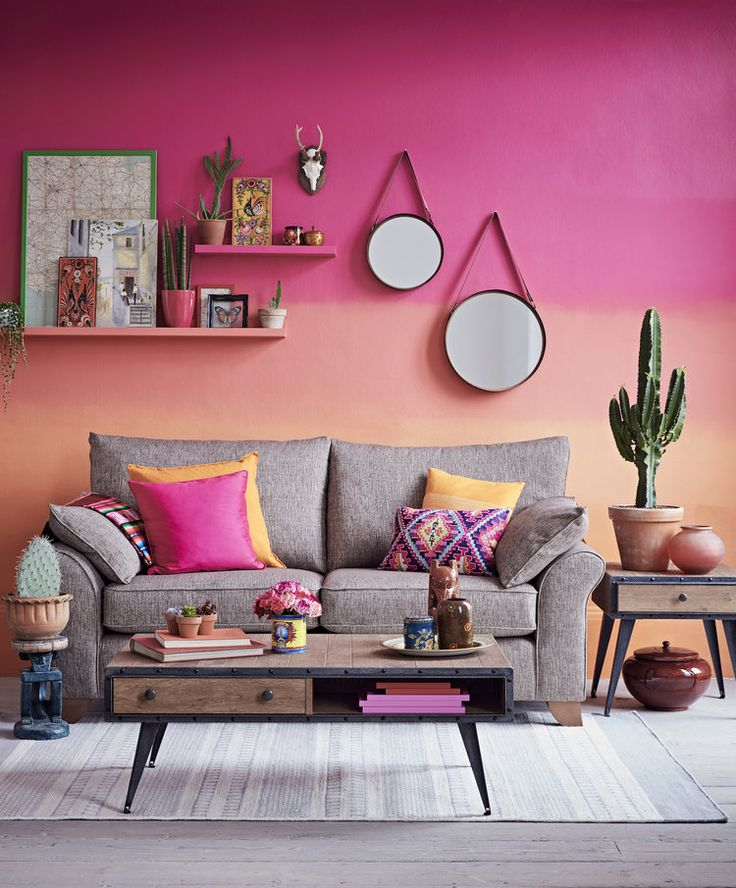 72 best Color-blocked walls images on Pinterest | Decor ...
