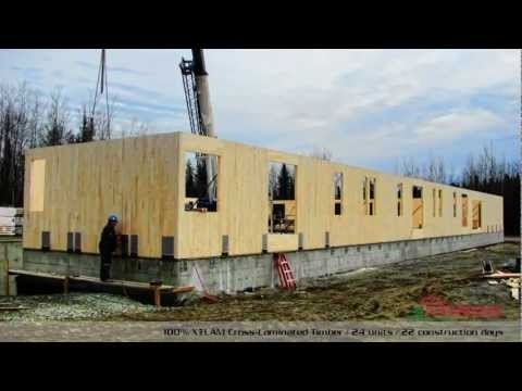 Nordic Wood Structures - Condominiums - 100% X-LAM Cross-Laminated Timber