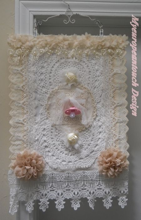 Handmade Wall Art Hanging For A New Born Baby The Pacifier Can Be Switched  Outu2026