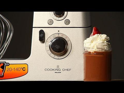 ШОКОЛАДНЫЙ ПУДИНГ НА 14 ФЕВРАЛЯ | рецепт Kenwood Cooking Chef - YouTube
