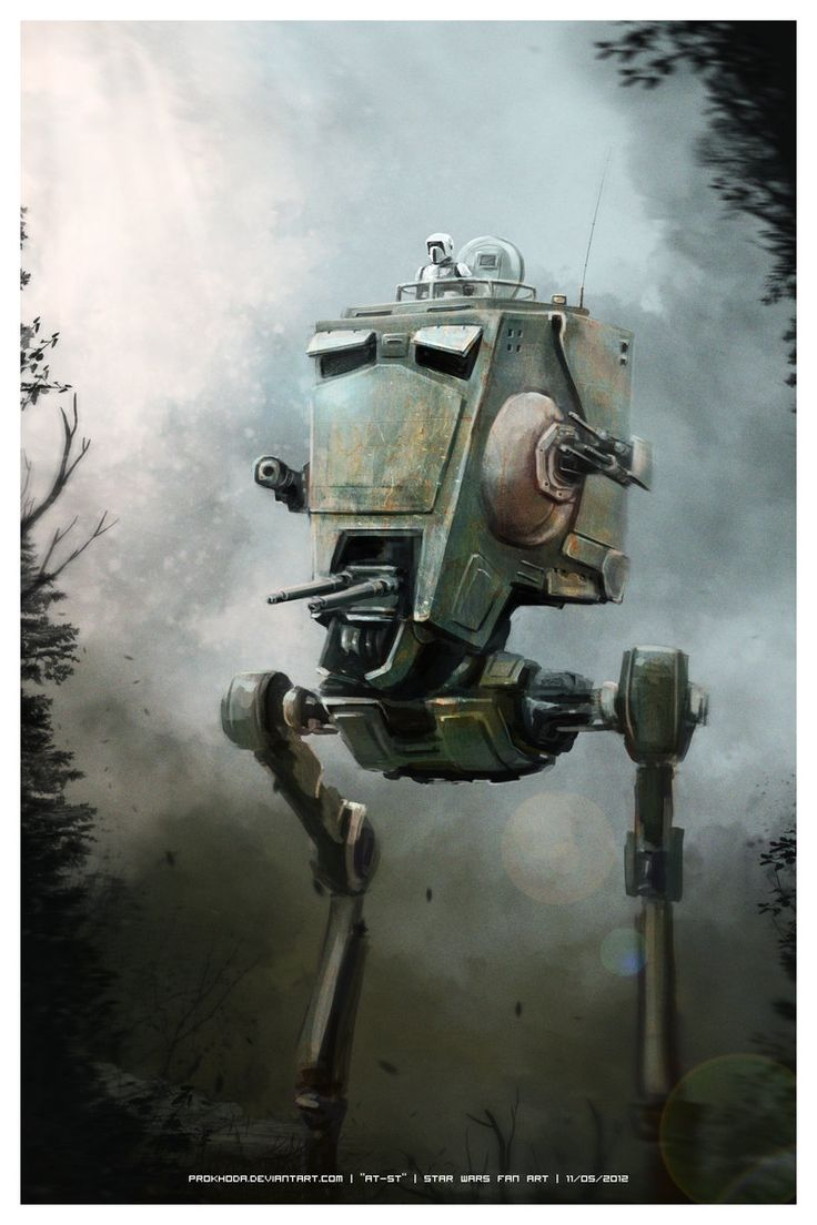 AT-ST /by *prokhoda #deviantART #StarWars #art