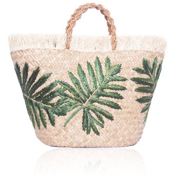 Planta Tote (17.160 RUB) ❤ liked on Polyvore featuring bags, handbags, tote bags, fringe tote bag, pink tote bag, fringe tote, straw tote bag and straw purses