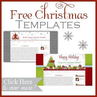 Free Christmas Blogger Blog Templates - FREE