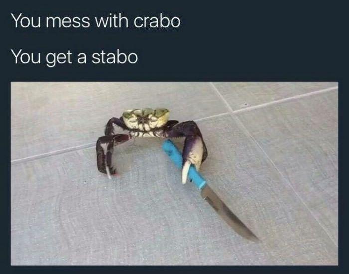 Crabo stabo