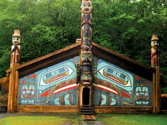If I remember correctly, Ketchikan is the totem pole capital of the world.