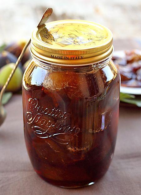 Smochine Caramelizate detaliu borcan
