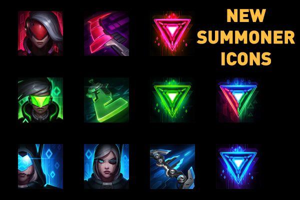 [PBE] New Summoner Icons