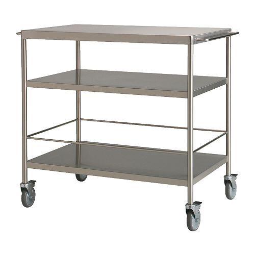 Ikea Bygel Kitchen Utility Cart Island Organizer ~ Kitchens, Idea, Kitchen Carts, Flytta Kitchen, Kitchen Islands