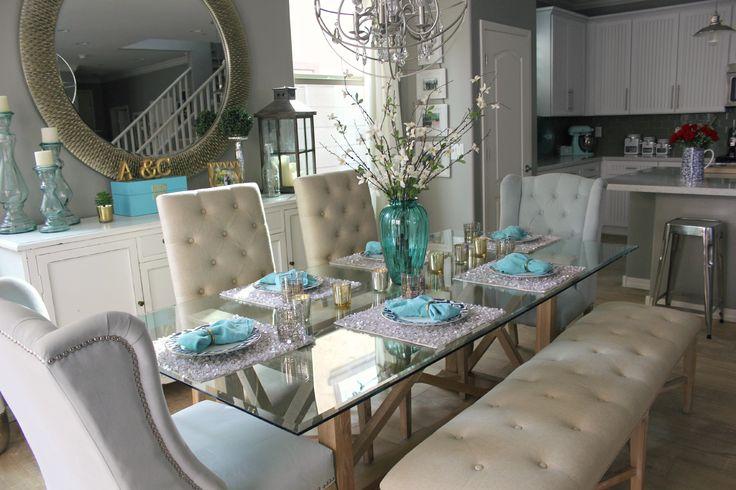 A Beautiful Heart: Dining Room Details