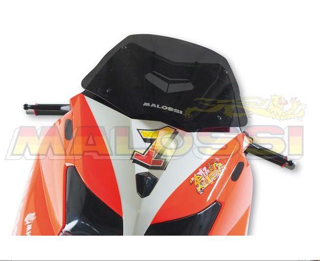 "Malossi MHR Screen Bulle / Pare-brise ""Teinte clair fonce"" Yamaha T-MAX 530T-MAX 530 4t LC inject (à partir de 2012)"