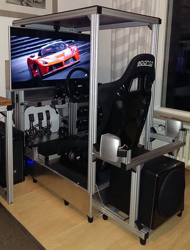 32 best race sim rig images on pinterest lace racing. Black Bedroom Furniture Sets. Home Design Ideas