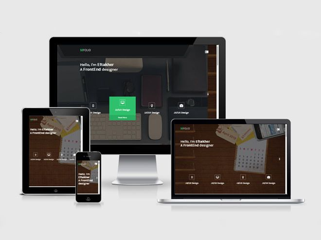 SeFolio – Free One Page Agency Bootstrap Template