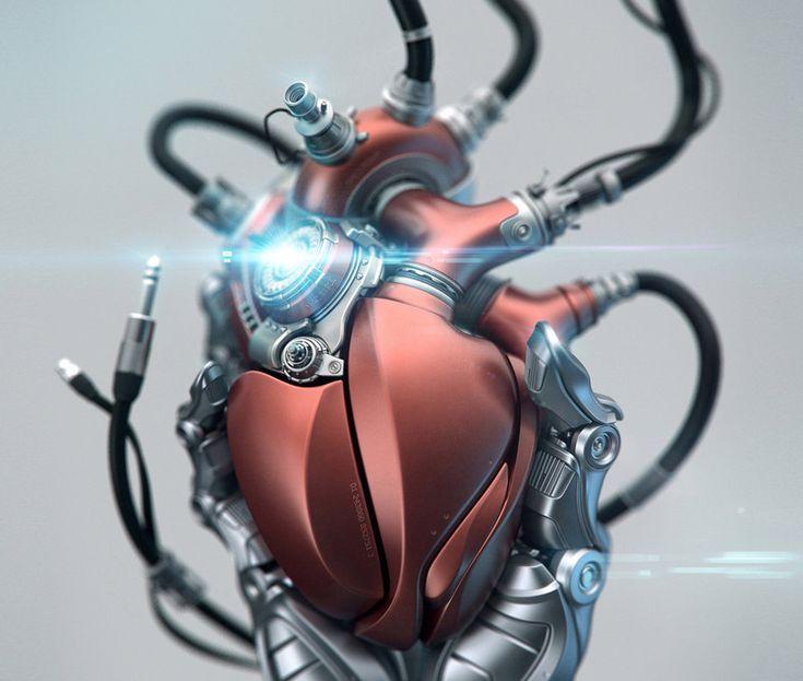 heart iron man