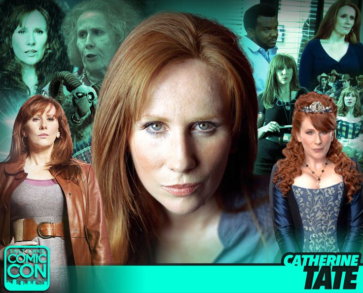 Meet actress Catherine Tate at #SLCC17! Donna Noble from Doctor Who, The Catherine Tate Show, and more! #utah